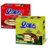 韓國海太 黑森林蛋糕 抹茶口味/巧克力原味 12入/一盒