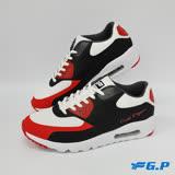 【G.P 男款輕量氣墊運動鞋】P5777M-40 紅色 (SIZE:39-44 共三色)