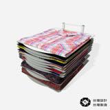 TEE不亂 衣物疊衣板收納架 (12片組)