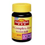 【NatureMade】萊萃美維生素B群加鐵50錠(適合女性)