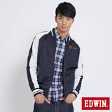 EDWIN 冒險旅行橫須賀雙面穿外套-男-丈青