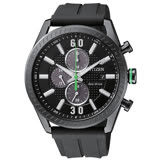 【CITIZEN 星辰】Eco-Drive 沉穩運動三眼計時腕錶-CA0667-12E