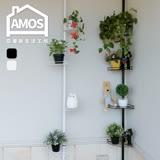 【Amos】鐵藝四層頂天立地置物架