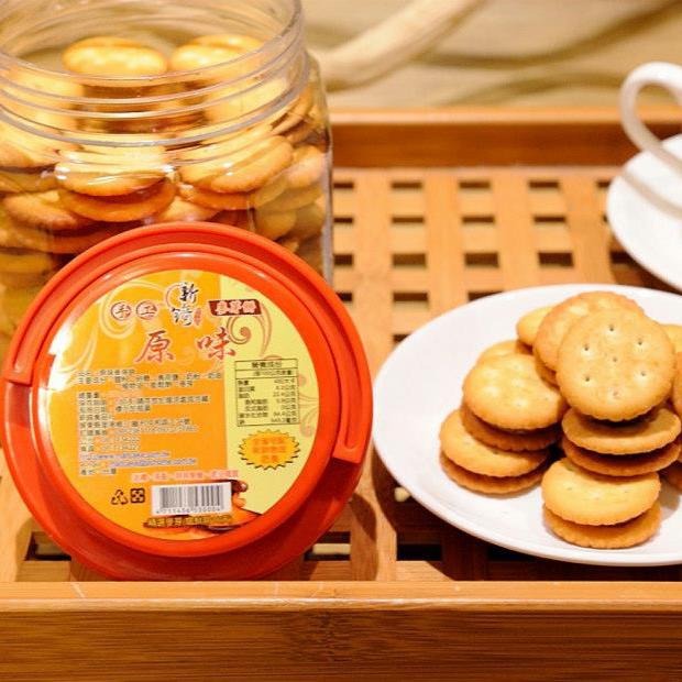 【新錡】手工原味麥芽餅4罐(每罐450g)(含運)