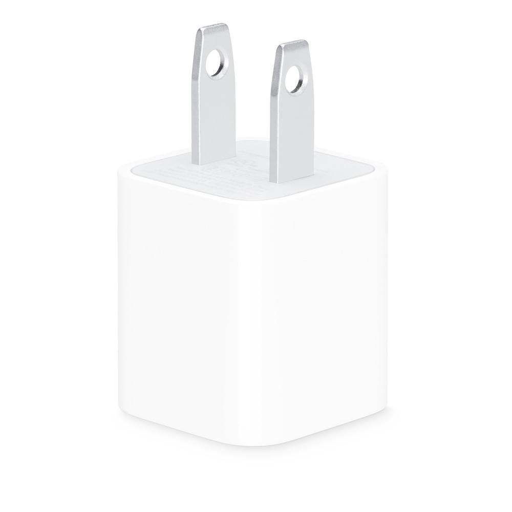 Apple原廠USB旅充頭5W_MD810TA/A(盒裝公司貨)