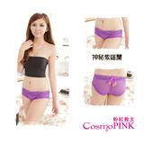 CosmoPINK粉紅教主-UC0059M日系彈性網紗美臀褲★紫色