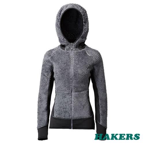 【HAKERS哈克士】女款 Polartec 動態保暖刷毛外套