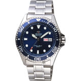 ORIENT東方 Sport 200米潛水機械錶-藍/41.5mm FAA02005D