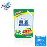 【潔霜】地板清潔劑補充包-檸檬香