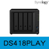 Synology 群暉科技 DiskStation DS418play 4Bay NAS 網路儲存伺服器
