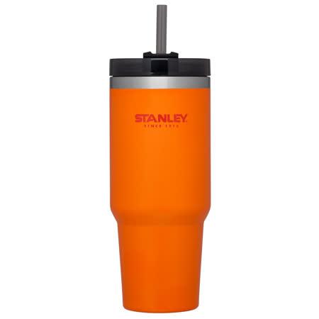 美國 Stanley 冒險系列 吸管隨手杯/吸管杯  0.88L 橘色# 10-02663-OR