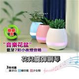 ◆送療癒植物◆兩入組藍牙音樂盆栽喇叭 (辦公室療癒新寵兒) *加贈植物~隨機出貨*