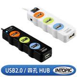 INTOPIC 廣鼎 USB2.0 4埠全方位集線器(HB-25)