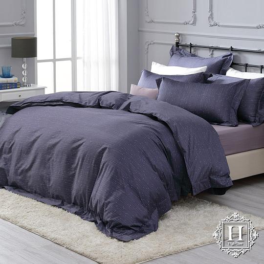 《HOYA H Series繁星夜曲》雙人四件式300織長纖細棉被套床包組