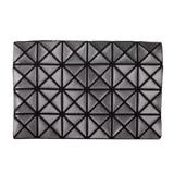 ISSEY MIYAKE BAOBAO 幾何方格4x6萬用卡片袋(亮銅色)