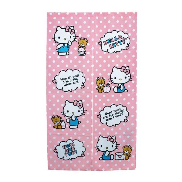 Hello Kitty長門簾85x150cm-點心