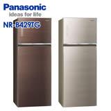 Panasonic 國際牌 422公升玻璃無邊框系列雙門變頻冰箱 NR-B429TG