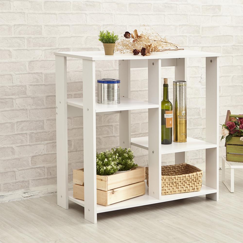 【ikloo】簡約收納置物架/廚房收納櫃