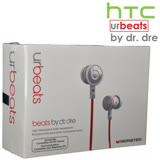 宏達電 HTC urbeats by dr. dre 輕量入耳式耳機 立體聲 重低音 BEATS