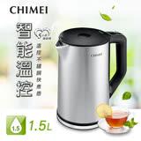 【CHIMEI 奇美】1.5公升5段式智能溫控不鏽鋼快煮壺(KT-15MDT0)
