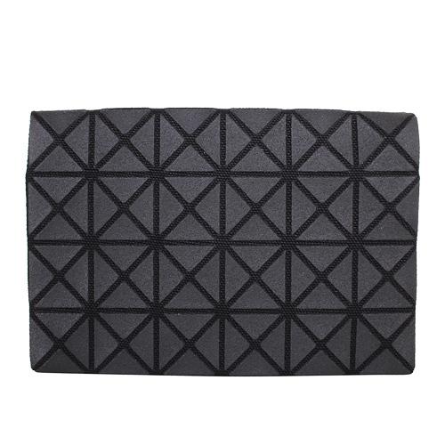ISSEY MIYAKE - BAOBAO幾何方格4x6萬用卡片袋(黑)/霧面