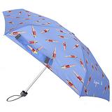 agnes b. - 泳裝芭比三段摺疊傘/天空藍