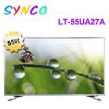 【SYNCO新格】55吋 4K UHD連網 LED液晶顯示器+視訊盒 LT-55UA27A