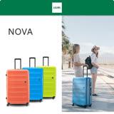 《Traveler Station》LOJEL NOVA 防盜拉練硬殼 26吋 行李箱 旅行箱 三色可選
