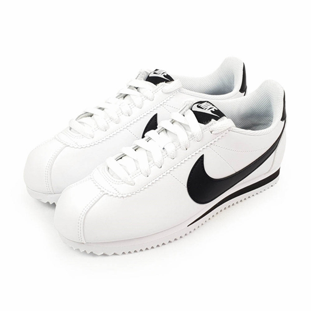 NIKE 女鞋 阿甘鞋 休閒鞋 WMNS CLASSIC CORTEZ LEATHER 白-807471101