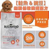 BLACKWOOD 柏萊富《全犬│鮭魚+豌豆》無穀低敏挑嘴配方 1LB/450g