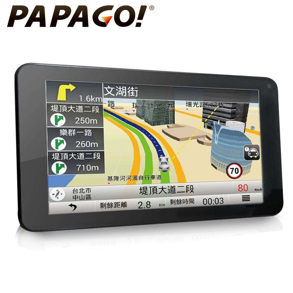 PAPAGO! GOLiFE GoPad 7 超清晰Wi-Fi 聲控導航平板 ★降價再送↘
