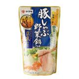 雅媽吉 豚肉野菜火鍋高湯(豆乳風味) 750g
