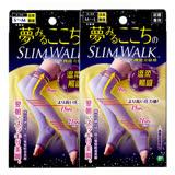 ➤限時特惠$399➤無預警回價先搶先贏【SLIMWALK孅伶】玩美比例機能美腿襪(睡眠就寢專用)溫柔觸感紫羅蘭 SML 兩款任選