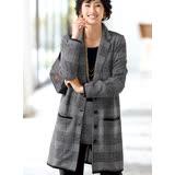 日本預購-portcros高雅兩件式提花上衣外套組(共三色/M-3L)
