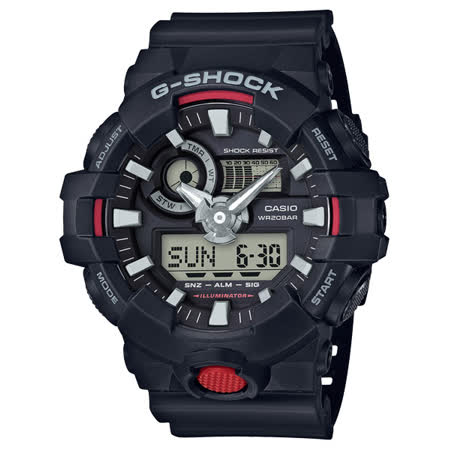 G-SHOCK 絕對強悍雙顯運動錶