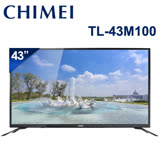 【夜殺】CHIMEI奇美 43吋4K聯網液晶顯示器+視訊盒 TL-43M100