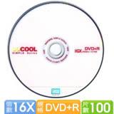 SOCOOL DVD+R 16X 100片裝