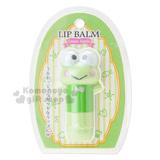 〔小禮堂〕大眼蛙 造型護唇膏《綠.站姿.3.5g》青蘋果香.旋轉式設計