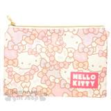 〔小禮堂〕Hello Kitty 手機斜背包《粉.白.紫.大頭.蝴蝶結.滿版》附背鍊