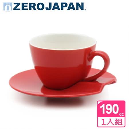~ZERO JAPAN~杯盤組190cc 蕃茄紅