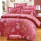 Carolan幾許柔情 雙人五件式精梳棉兩用被床罩組