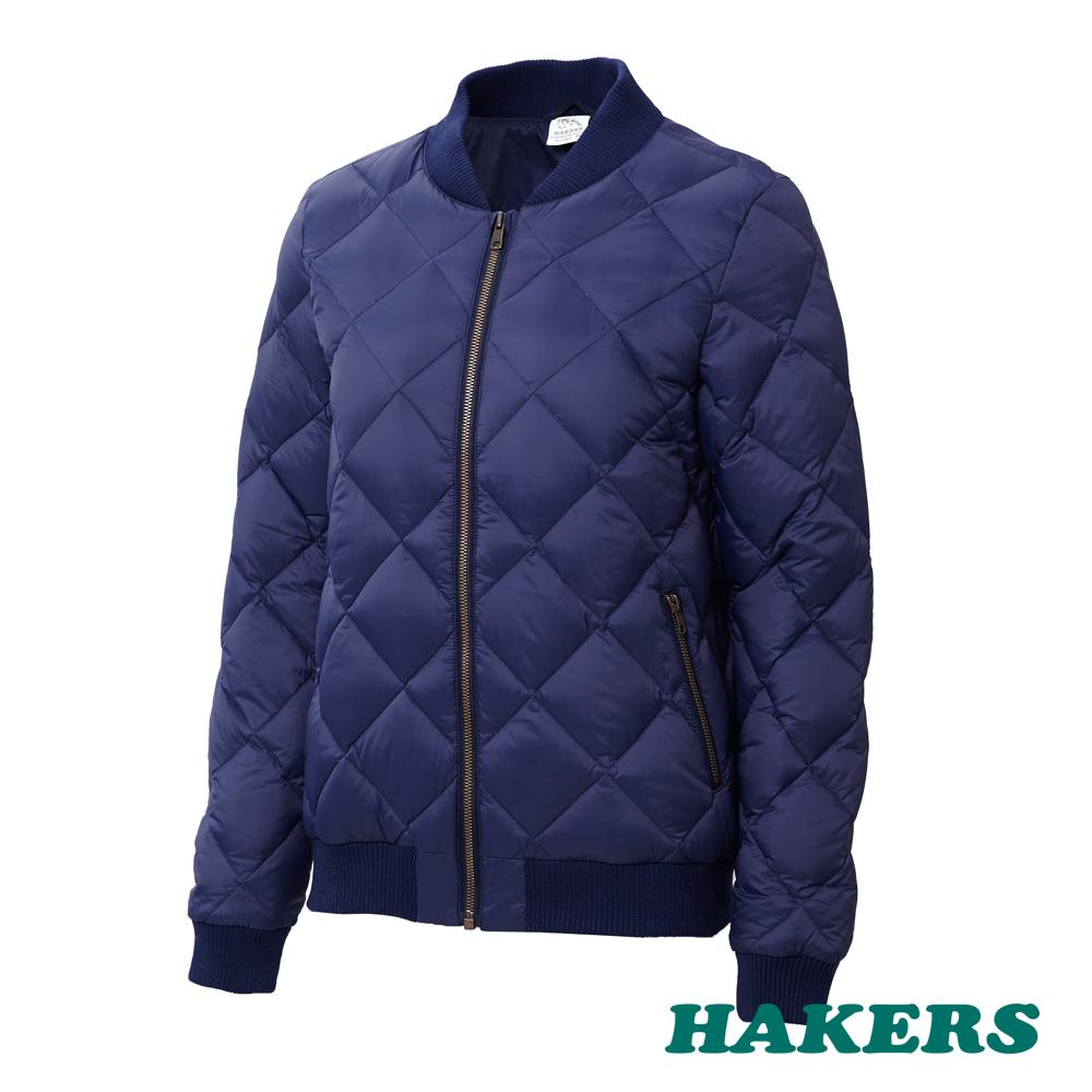 【HAKERS】女款 City Smart羽絨外套(深藍)