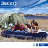【Bestway】67003 立柱植絨充氣床墊(雙人加大)