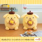 【FuRyu】日版 Sanrio三麗鷗 景品 Pom Pom Purin 鬆餅布丁狗 絨毛娃娃 開心臉 B款