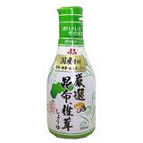 卓上昆布香菇醬油 200ml/瓶