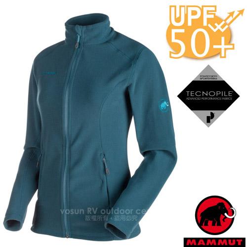 【瑞士 MAMMUT 長毛象】女新款 Yampa ML 彈性保暖刷毛外套.休閒夾克