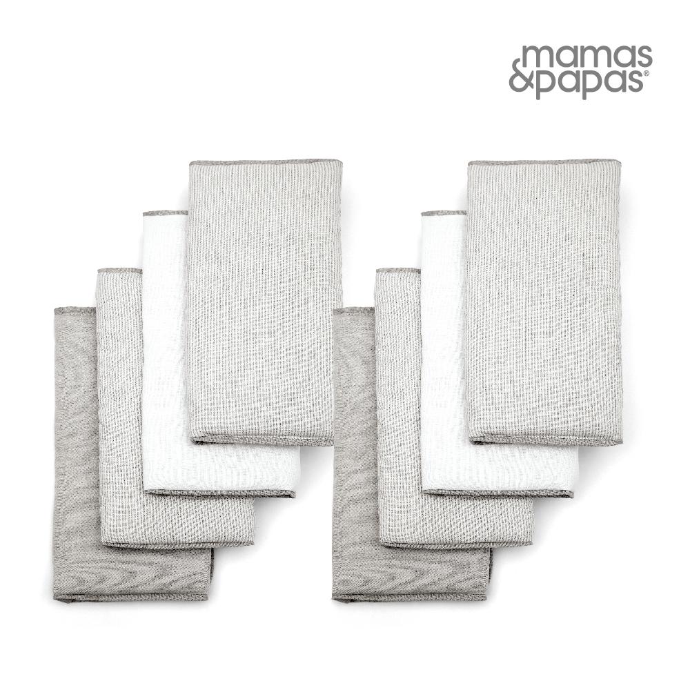 【Mamas & Papas】WTTW-誕生-灰(床圍8入)