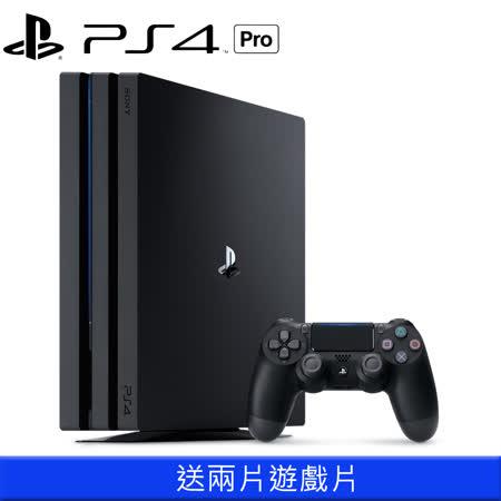 SONY PS4 Pro主機加送兩片遊戲片
