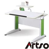 【Artso亞梭】DLM全能桌-機械式可調桌面傾仰設計遠離腰酸背痛人體工學書桌健康傢俱電腦桌
