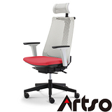 【Artso亞梭】CP椅- 日本透氣網布/背部裸空設計涼爽不悶熱/辦公椅/電腦椅/健康傢俱
